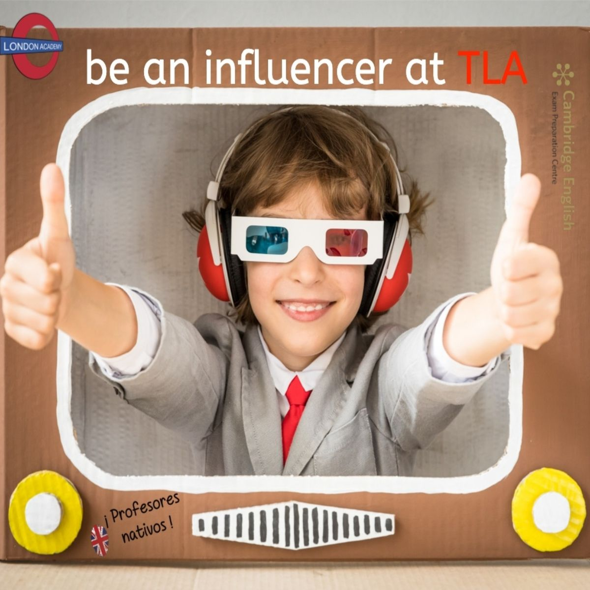 Be an influencer 1200x1200